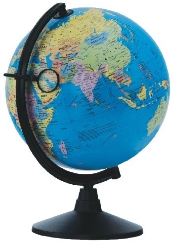 Globus 2001 M Desk & Table Top Political World Globe(Blue)