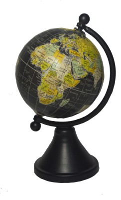 Spera Powder Black Series Desk & Table Top Political World Globe