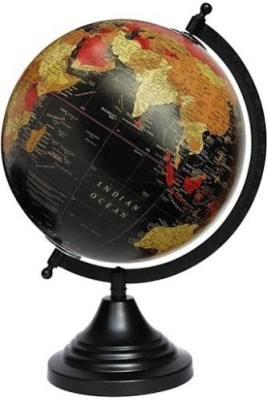 Snapup4u Black With Red Desk & Table Top Political World Globe
