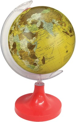 Globeskart Designer New Beige Desk and Table Top Political World Globe