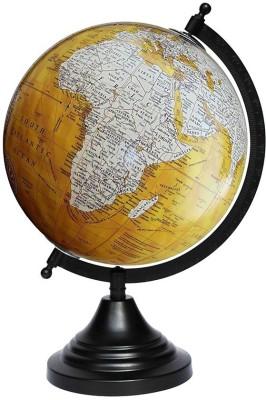 Craftghar Antique Gold-gloss Finished Desk & Table Top Political World Globe