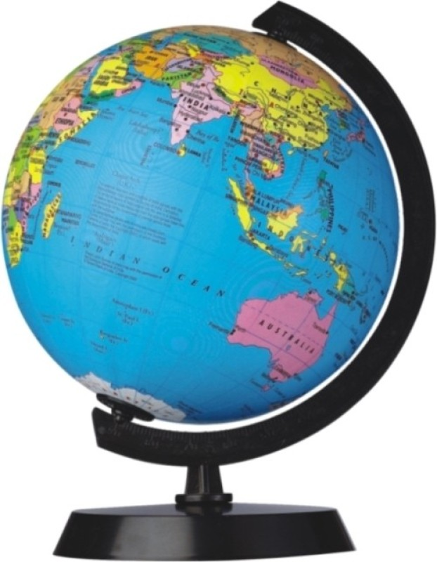 Globus 606 A Desk & Table Top Political World Globe(Blue)