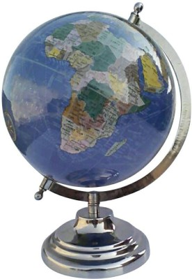 Cart4Craft Dark Blue with MultiColor Desk and Table Top Political World Globe