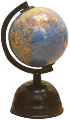 Globus 404 with Money Box Desk & Table Top Political World Globe