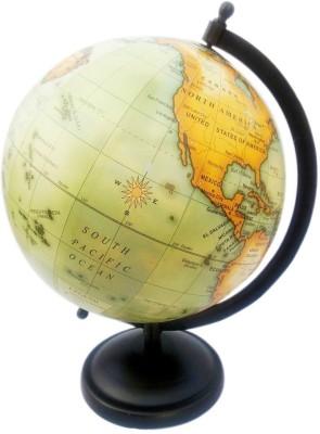 Cart4Craft Green Ocean Desk & Table Top Political World Globe
