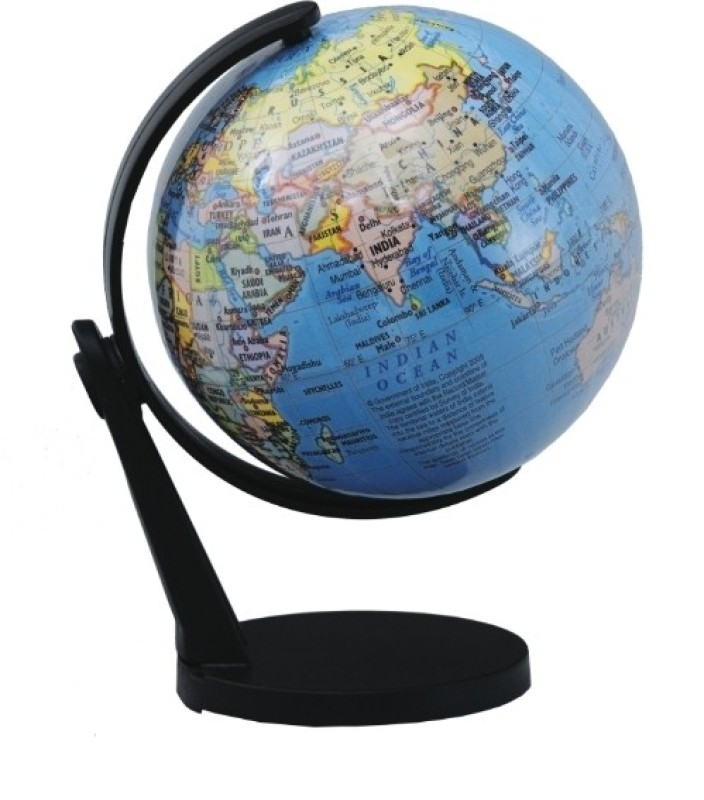 Globus 505 ST Desk & Table Top Political World Globe(Blue)