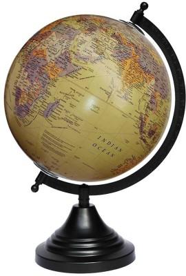 Craftghar Antique Beige Desk & Table Top Political World Globe