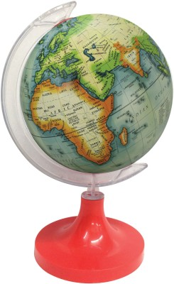 Globeskart Designer Green Multicolour Desk and Table Top Political World Globe
