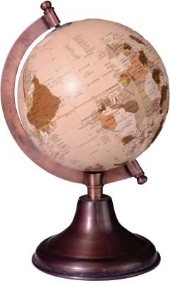 Spera Copper Antique Desk & Table Top Political World Globe