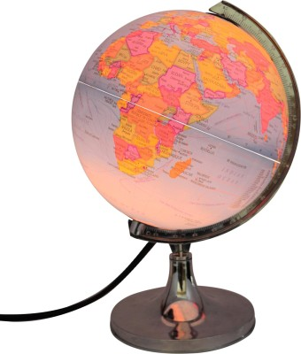 Winners Ornate 808 - illuminated Desk & Table Top Political World Globe