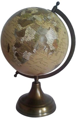 Cart4Craft Antique Style Desk & Table Top Political World Globe