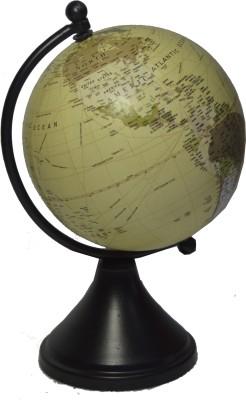 spera powder black desk & table top poltical World Globe
