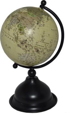 spera powder black desk & table top political World Globe