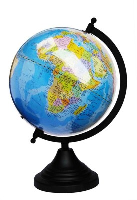 Craftghar Blue Ocean Classic Desk & Table Top Political World Globe