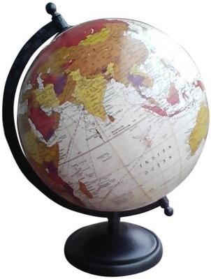 Cart4Craft Antique Look Multicolor Ocean Desk & Table Top Political World Globe