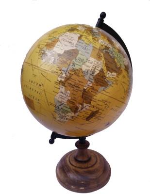 Cart4Craft Decorative Antique Shed Desk & Table Top Political World Globe