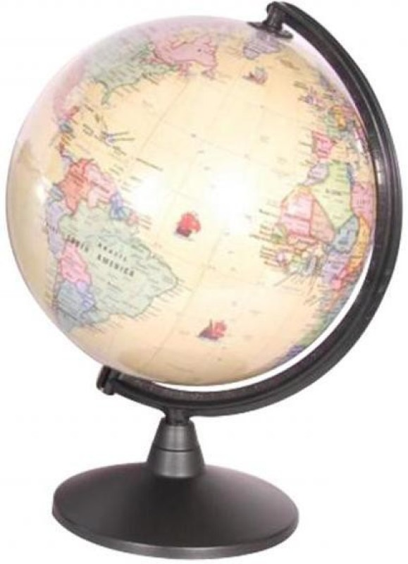 Globus 2001 N Desk & Table Top Political World Globe(Large Sky Blue)
