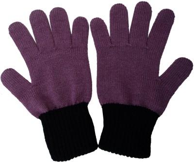 Gajraj Premium Quality Solid Winter Women's Gloves