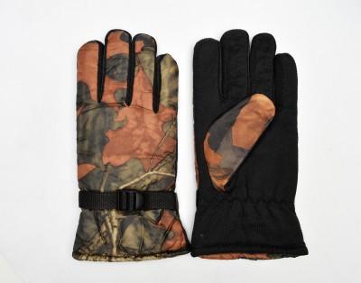 Welwear Printed Winter Men's Gloves
