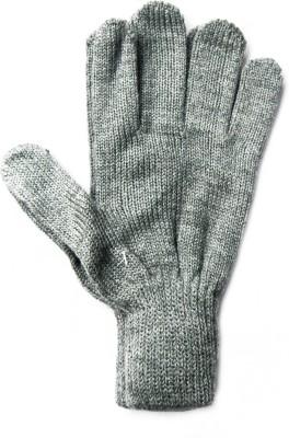 The Modern Knitting Shop Kashmilon Blended Woolen Solid Winter Women's Gloves