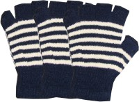 Kifayati Bazar Striped Winter Men's Gloves