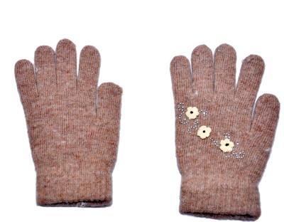 BVM Striped Winter Women's Gloves