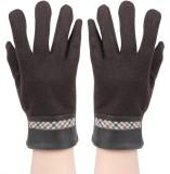 Bonjour Solid Winter Men's Gloves