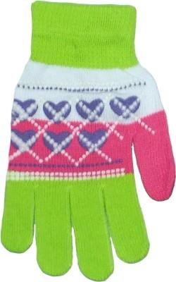 Gen Fashion Printed Winter Women's Gloves