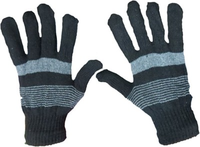 DCS Striped Protective Baby Boy,s, Baby Girl's Gloves