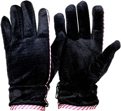FashBlush Checkered Winter Men's Gloves