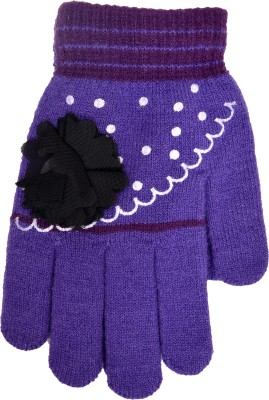 Welwear Embellished Winter Women's Gloves