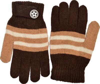 Welwear Striped Winter Men's Gloves