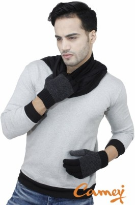 Camey Self Design Winter Men's Gloves