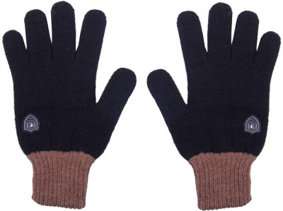 Gajraj Stylish Solid Winter Men's Gloves
