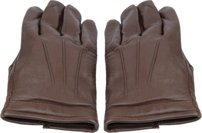 Faith Genuine Leather for Fashion and Winter Solid Protective Women's Gloves