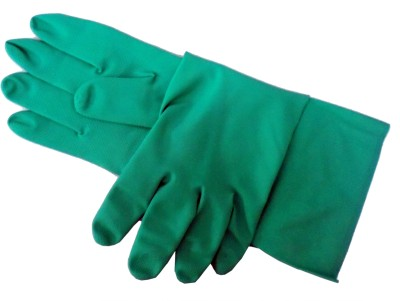 Prichem Gloves Chemicals Resistance Solid Protective Men's Gloves