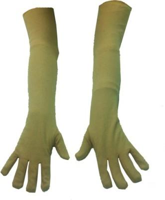 atyourdoor Long hand Solid Protective Women,s, Men's Gloves