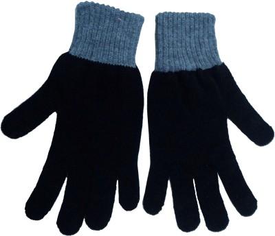 Gajraj Woollen Solid Winter Men's Gloves