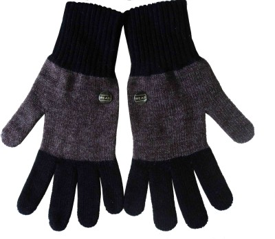 Gajraj Solid Winter Men's Gloves