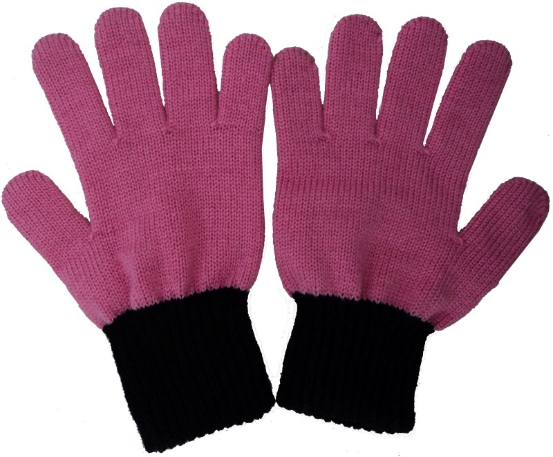 Gajraj Premium Quality Solid Winter Women's Gloves