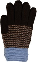 Vinenzia Striped Winter Women's Gloves