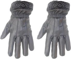 Modish Self Design Winter Women's Gloves