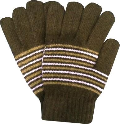 Gayatri Creations Striped Winter Men,s Gloves