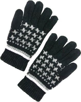 V-Lon Self Design Winter Men's Gloves