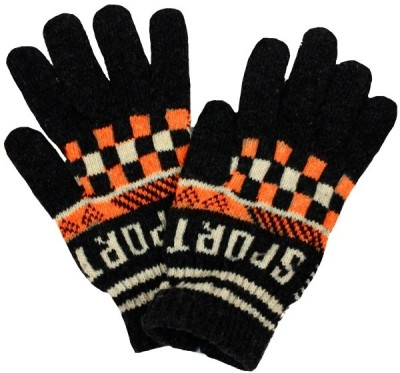 TakeIncart TG-46953 Printed Winter Men's Gloves