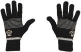 Tiekart Striped Winter Men's Gloves