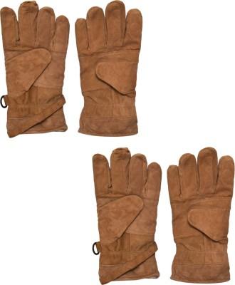 SelfieSeven Basic Grace Solid Protective Men,s Gloves