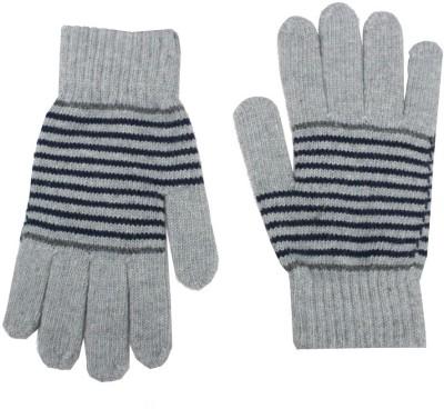 Romano Striped Winter Men's Gloves