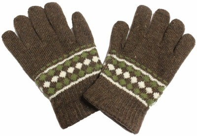 TakeIncart Graphic Print Winter Men's Gloves