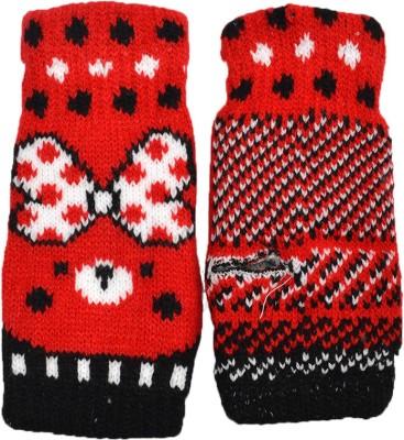 Welwear Graphic Print Winter Women's Gloves